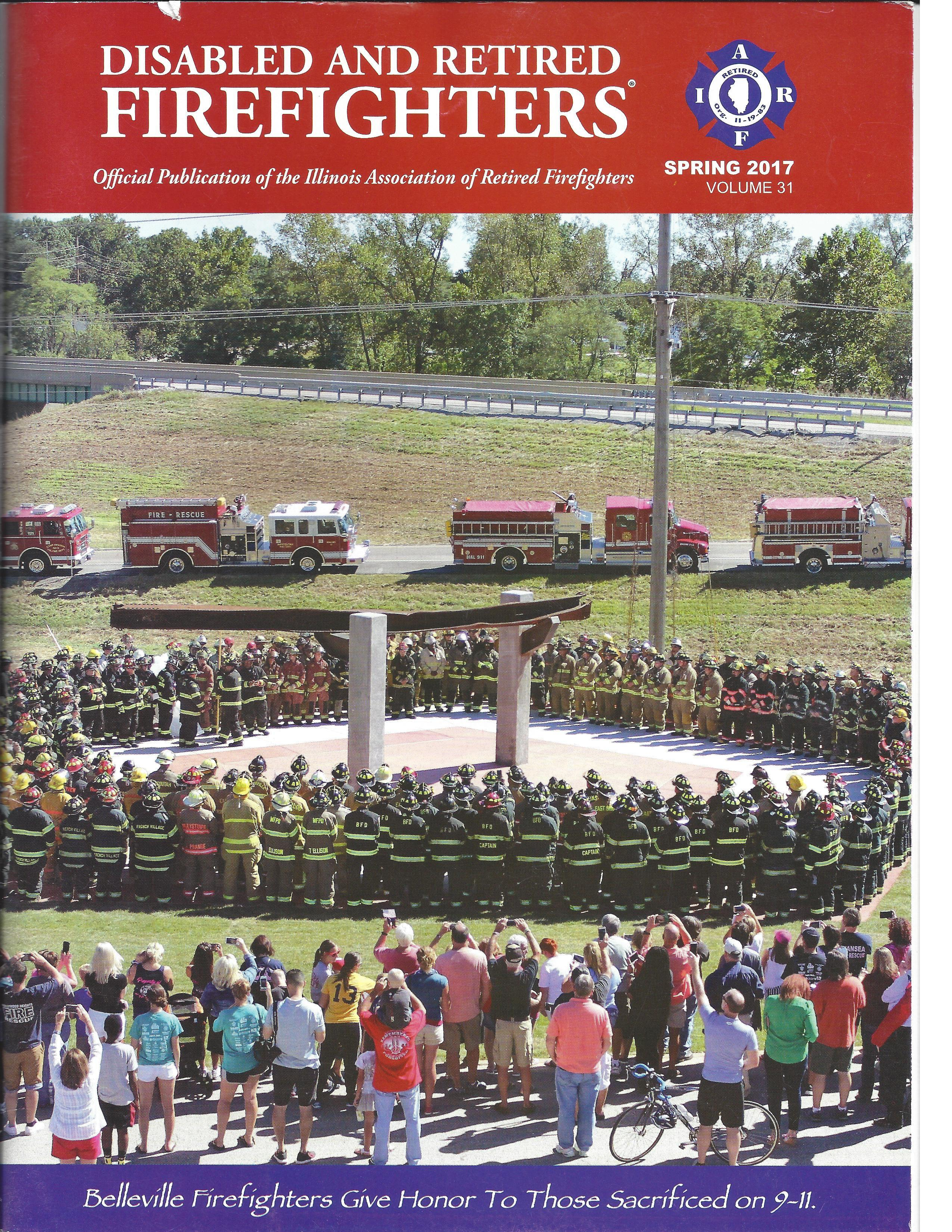 Disabled and Retired Firefighters - Spring 2017